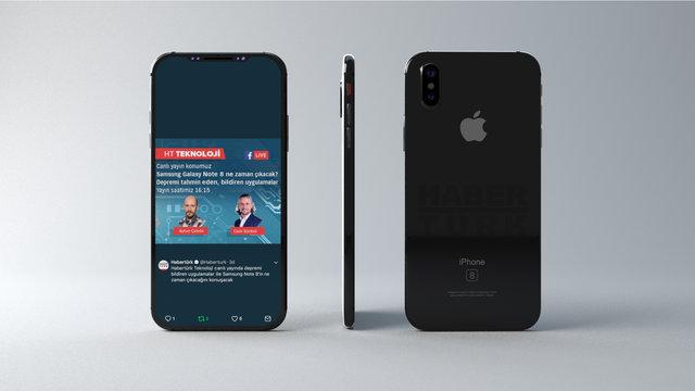 iPhone 8 ve 10, Steve Jobs Sahnesi'nde tanıtıldı