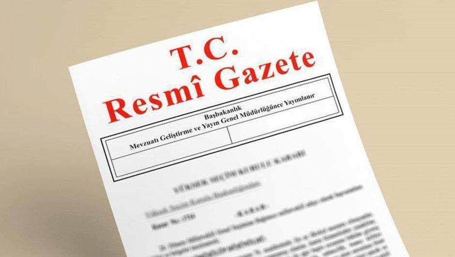 YAŞ kararları   Resmi Gazete Yüksek Askeri Şura kararları