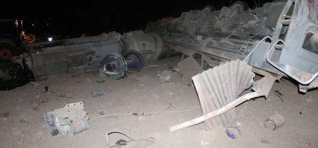Elazığ'da yük treni raydan çıktı: 2 makinist öldü