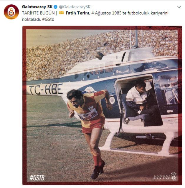 Galatasaray'da hedef Fatih Terim