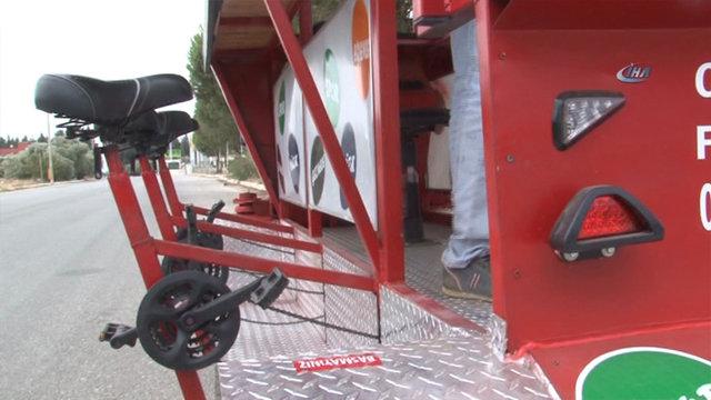 Türkiye'nin ilk bisiklet kafesi Çevirgez
