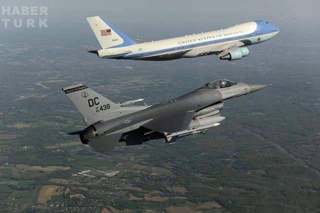 Air Force One özellikleri