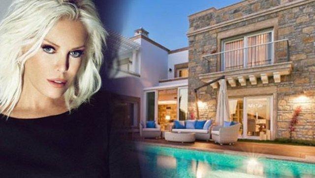 Ajda Pekkan'ın yeni evi