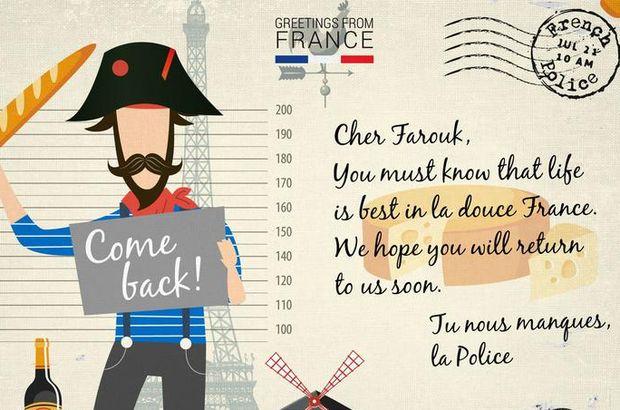 Europol'den kartpostal