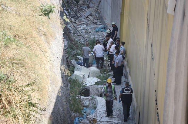 Marmaray inşaatında ceset bulundu!