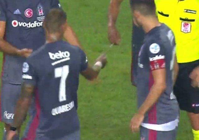 Beşiktaş - Konyaspor maçı olayları yurt dışında da gündemde