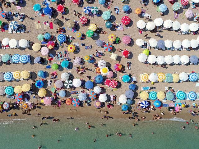 Didim Altınkum'a turist akını