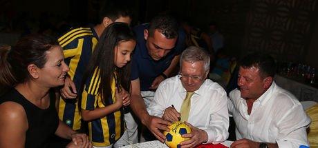 Fenerbahçe Başkanı Aziz Yıldırım: Muz ayaklarının altında!