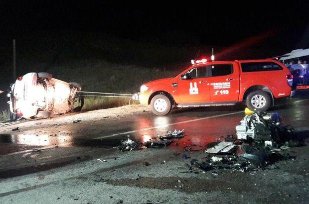 Kop Dağı geçidinde kaza! 1 polis öldü, 13 kişi yaralandı