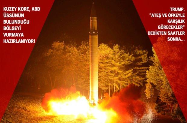 Kuzey Kore ABD balistik füze