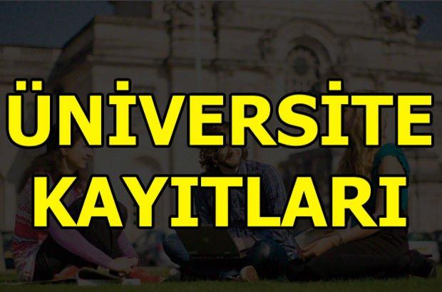 Üniversite kayıtları