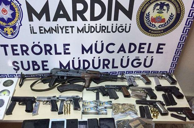 Mardin merkezli terör operasyonunda 20 tutuklama
