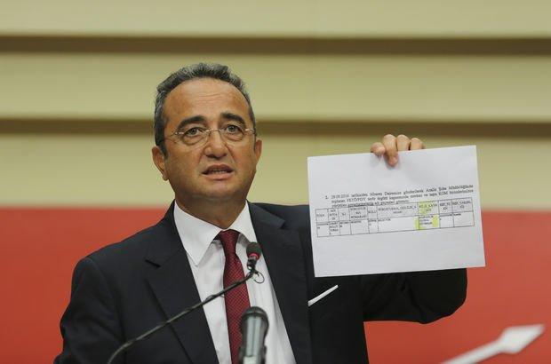 CHP'den 'fişleme' iddiası
