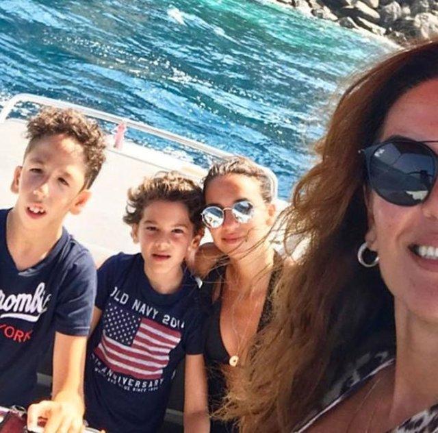 Türkiye güzeli Özlem Kaymaz'dan oğluna duygusal mesaj
