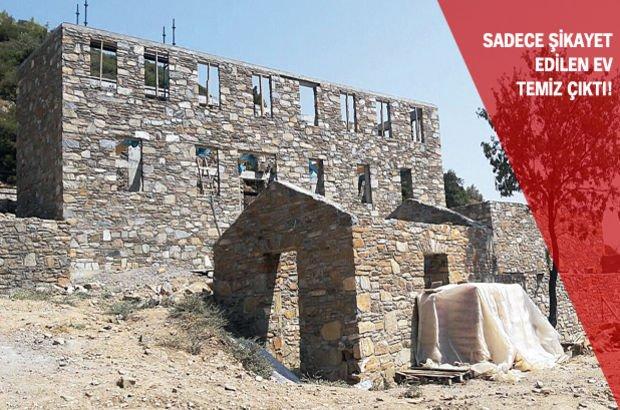 Aydın Entel Köy Doğanbey köyü İmara aykırı yapı