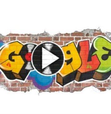 Google'dan Hip-Hop'a özel doodle