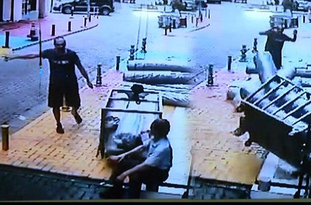 güvenlik kamerası kaza anı