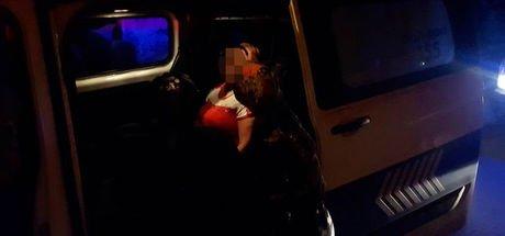 Kayseri'de tartıştığı eşini rehin alan öfkeli kadını polisler ikna etti