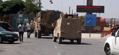 Kilis sınırında askeri hareketlilik!