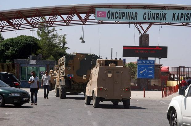 Kilis sınırında askeri hareketlilik! Tedbirler sıkılaştırıldı