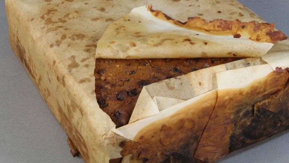 Antarktika'da 100 yıllık kek
