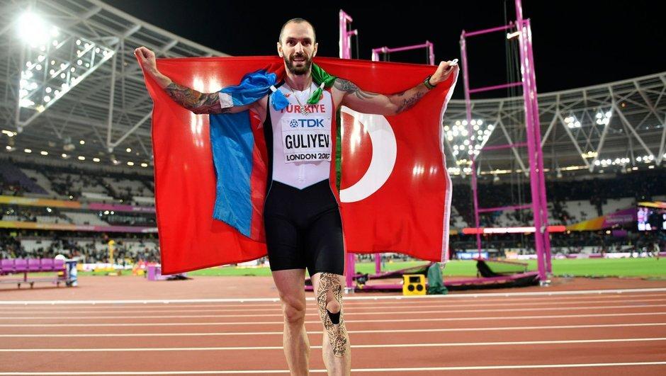 Ramil Guliyev, Usain Bolt