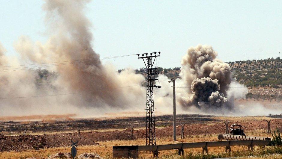 Suriye İslam Ordusu eğitim kampına saldırı düzenlendi