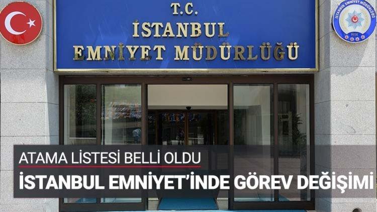"""İstanbul Emniyet Müdürlüğünde görevli 39 polis müdürü ile emniyet amirinin tayini """"şark görevi"""" nedeniyle Doğu ve Güneydoğu illerine çıkarken, 9 müdür ile emniyet amiri de başka illerden İstanbul'a atandı."""