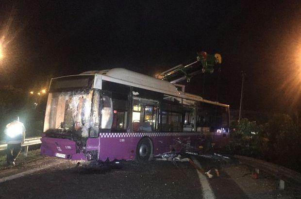 Ümraniye  TEM otoyolu İETT  otobüsü  İstanbul