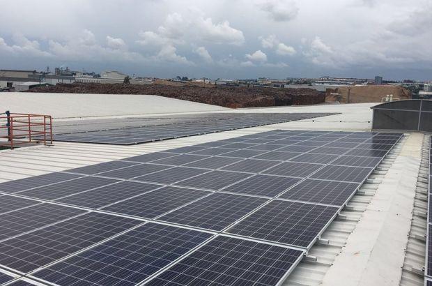 İlk yerli güneş enerjisi panel fabrikası