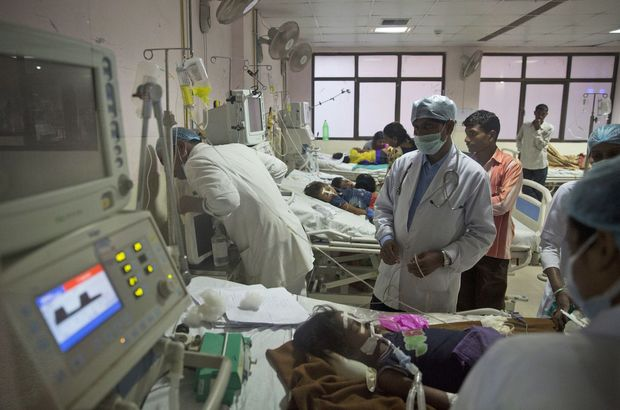 Hindistan'da 5 günde 60 çocuk öldü