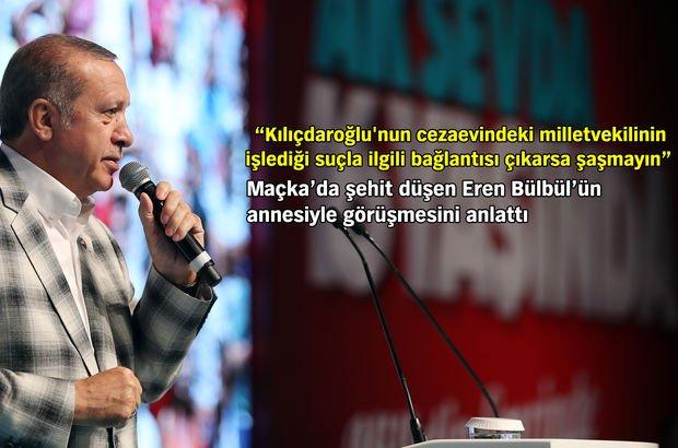 Cumhurbaşkanı Erdoğan'dan teşkilata FETÖ mesajı: Hemen bize bildirin