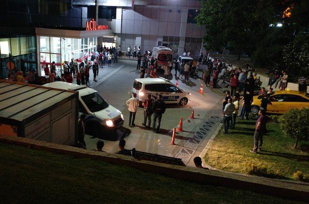 İstanbul Emniyet Müdürlüğü'ne getirilen terörist 1 polisi şehit etti