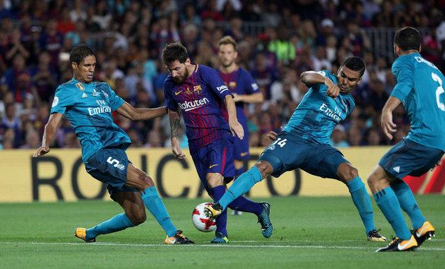 Barcelona: 1 - Real Madrid: 3 | MAÇ SONUCU