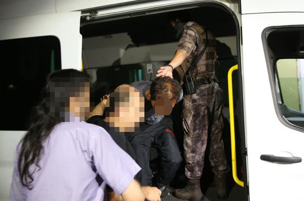 İstanbul'da 7 ilçede terör operasyonu