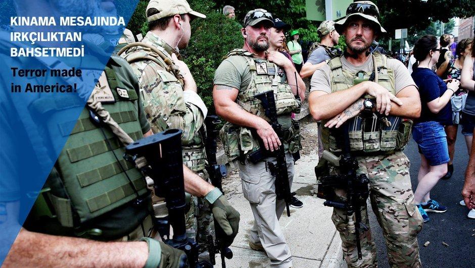 ABD şiddet olayları Donald Trump Virginia Eyaleti Charlottesville