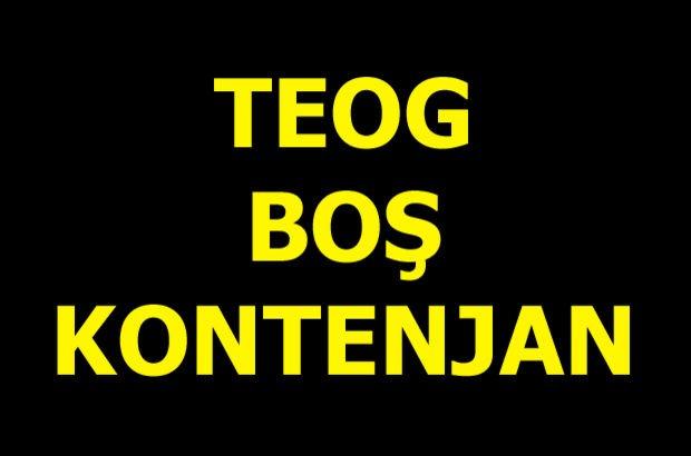 TEOG boş kontenjan listesi! e-Okul TEOG lise kontenjan sorgulama (2017)