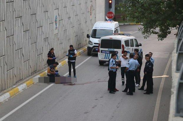 Bolu'da D-100 bağlantı yoluna 7 metreden düşen 82 yaşındaki adam hayatını kaybetti