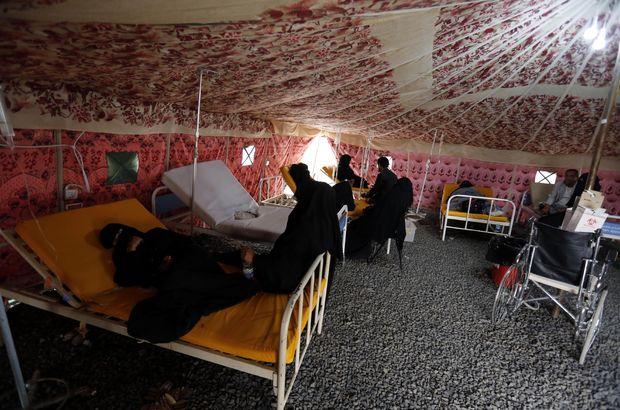 Kolera vakaları yarım milyona ulaştı