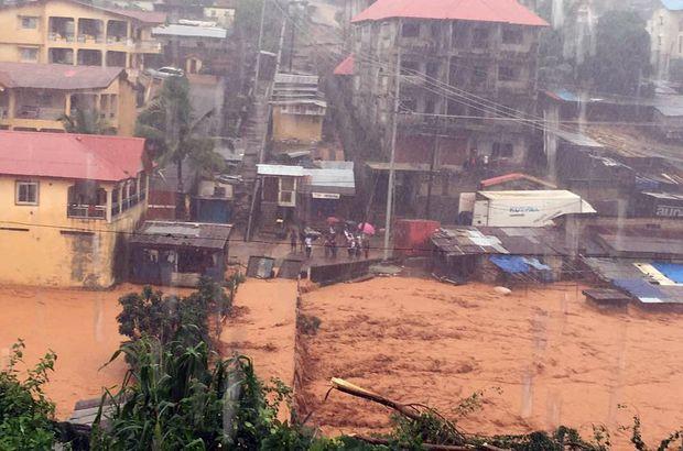 Sierra Leone'de toprak kayması yüzlerce kişinin hayatına mal oldu