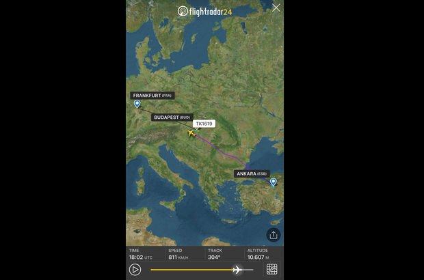 THY uçağı ölen yolcu nedeniyle Budapeşe'ye zorunlu indi