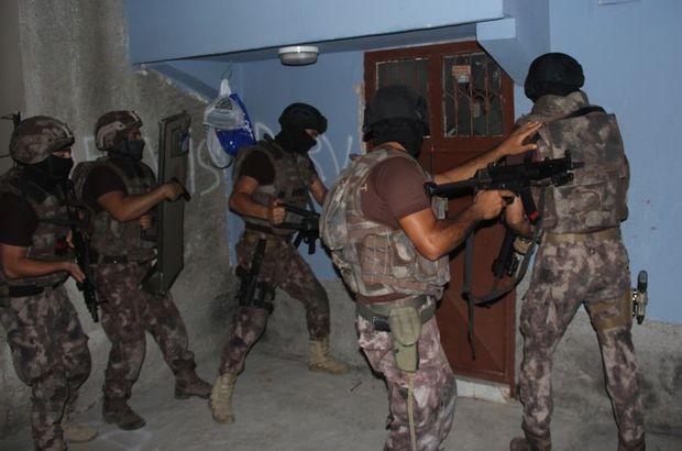 İstanbul'da özel harekat destekli terör operasyonu düzenlendi