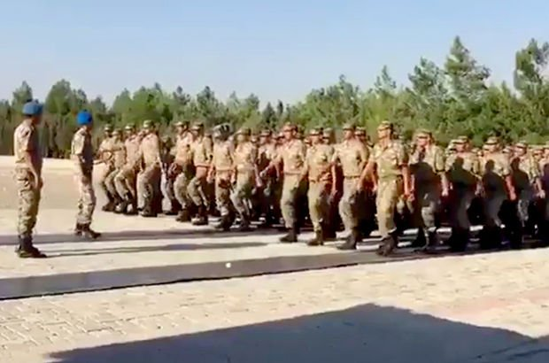 Komandolardan tüyleri diken diken eden Eren Bülbül videosu