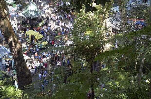 Portekiz'in Madeira adasında festival alanına ağaç devrildi: 13 ölü