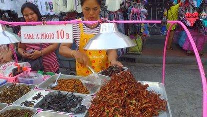 Tayland'ın sokak yemekleri...