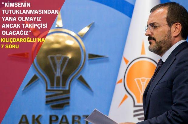 AK Parti'den 'Kılıçdaroğlu' polemiğine yanıt