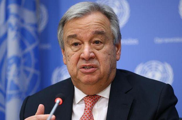 BM Genel Sekreteri Guterres'ten Kuzey Kore açıklaması
