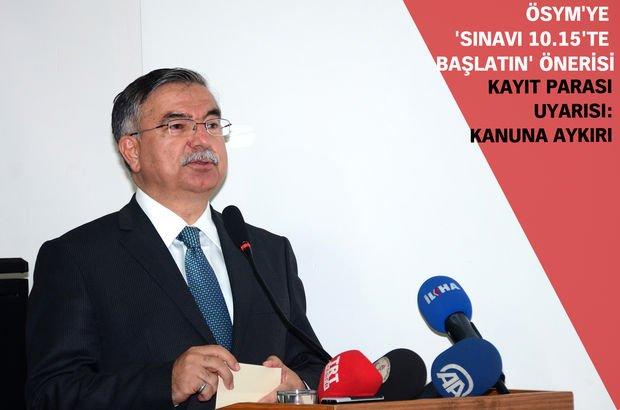 Milli Eğitim Bakanı Yılmaz: Hatanın nedenlerini tek tek açıklayacağız