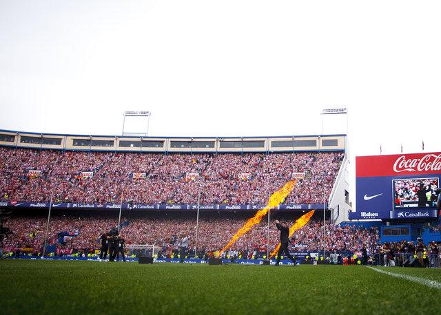 Atletico Madrid, yeni stadı Wanda Metropolitano'ya kavuşuyor!