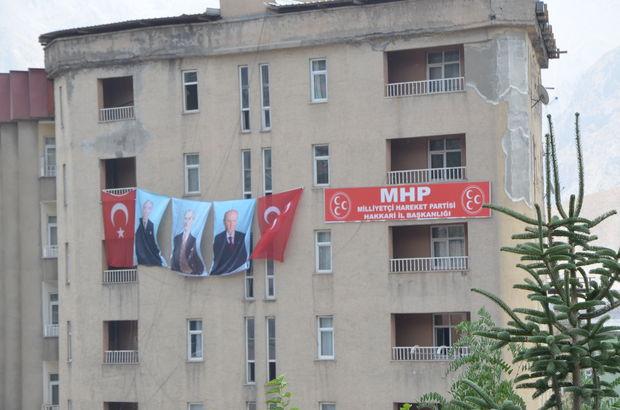 MHP, 10 yıl sonra Hakkari'de parti binası açtı